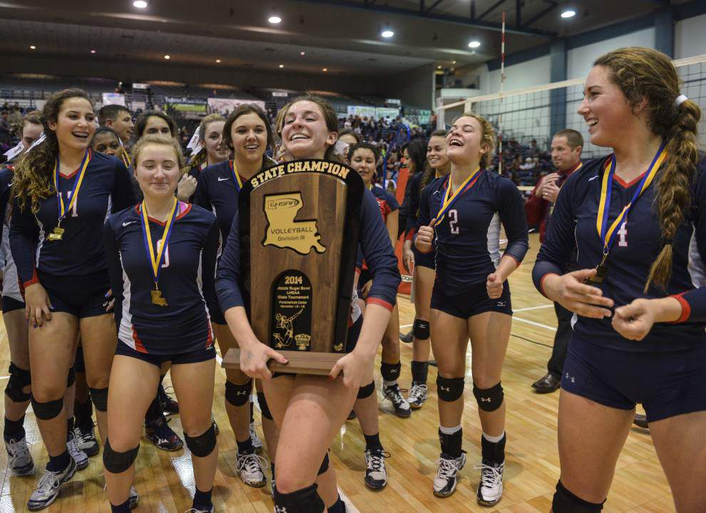 Video: Highlights from the LHSAA State Volleyball Championships _lowres