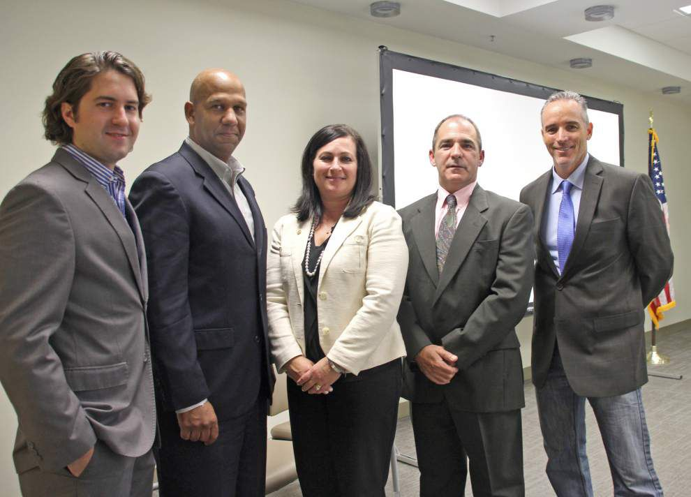 St. Bernard Parish Hospital CEO updates community leaders _lowres
