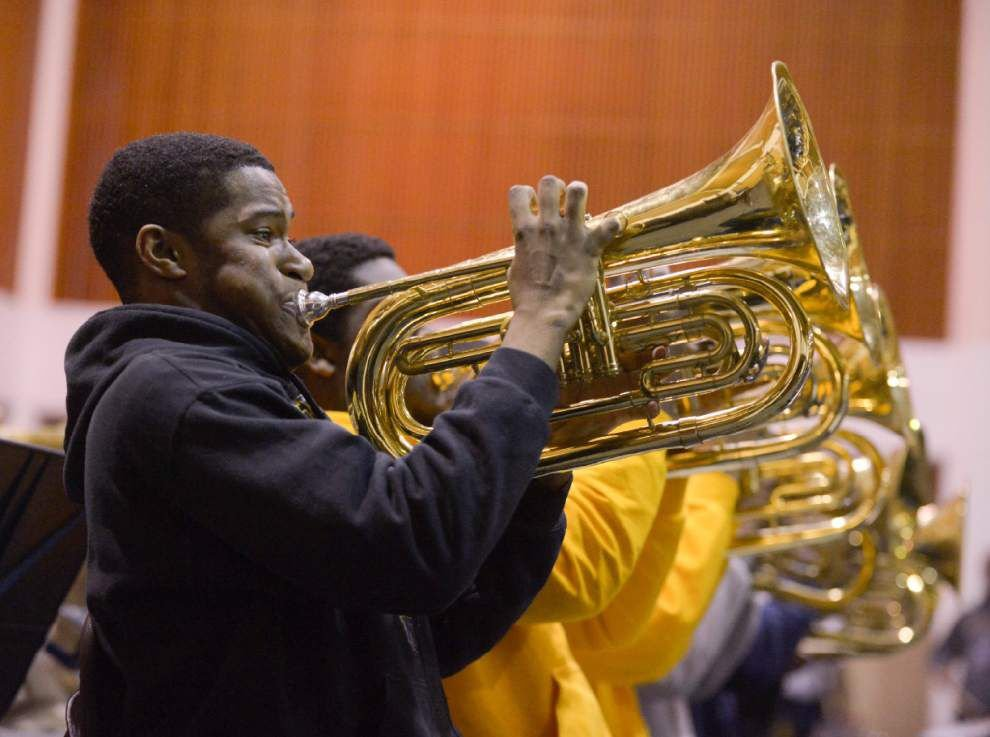 Southern's Human Jukebox prepares for competition _lowres