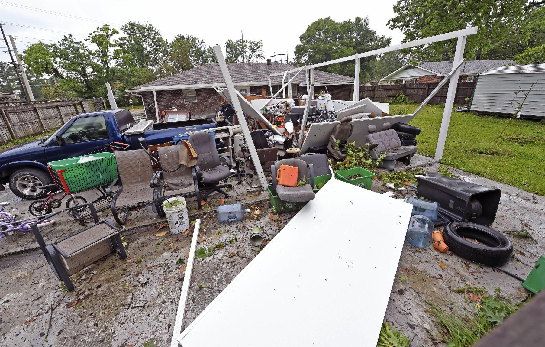 Baton Rouge tornado See map of twisteru0027s