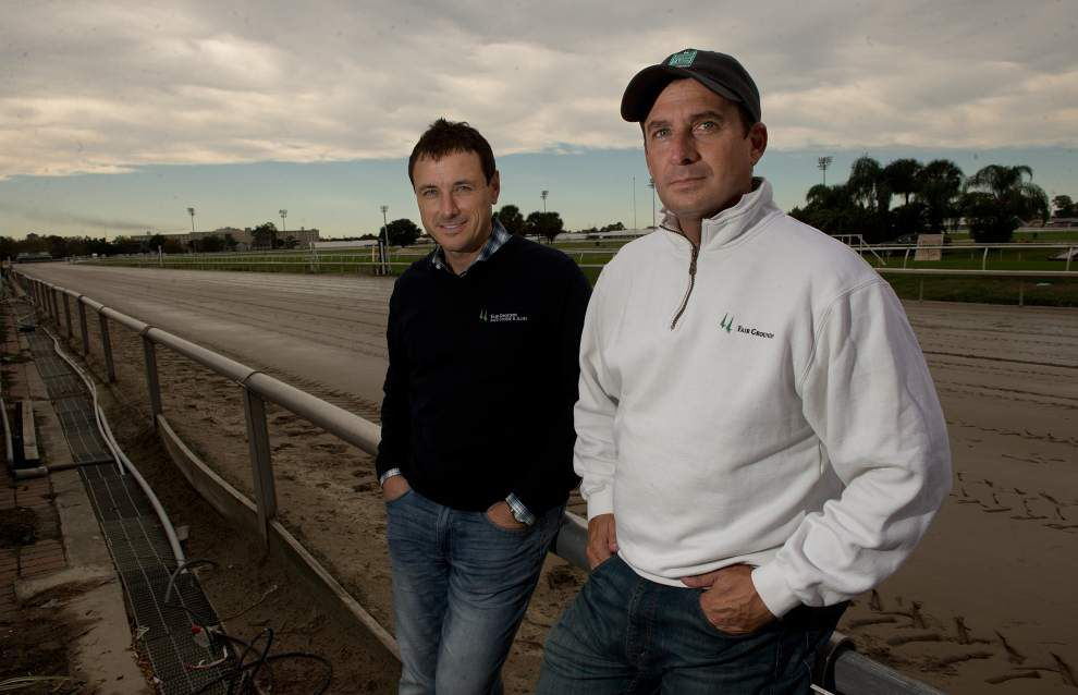 The Fair Grounds' new racing director, Jason Boulet, is living the dream _lowres