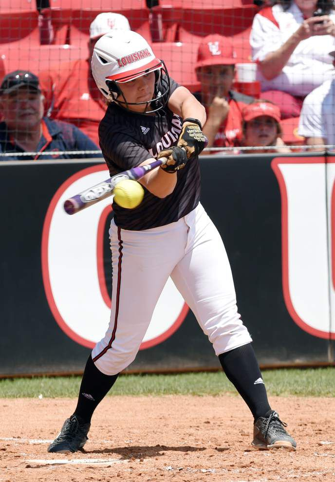Cajuns shut out ULM in softball _lowres