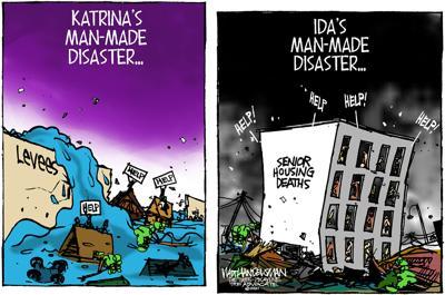 Walt Handelsman: Man-Made Disasters