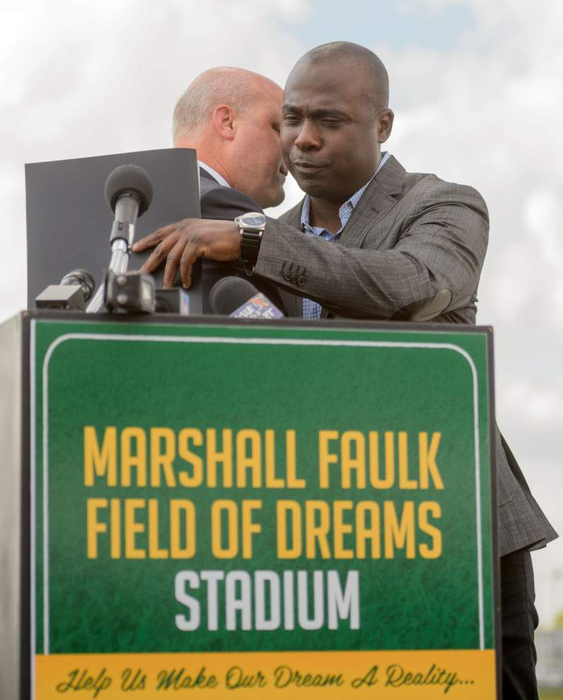 Planned 9th Ward football stadium to honor Carver grad Marshall Faulk _lowres