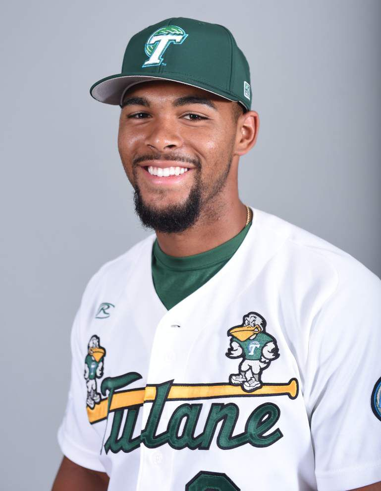 Death of father, 'best friend' cuts deep for Grant Brown and Tulane teammates as regionals near _lowres