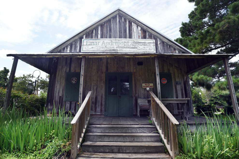 Andrepont's general store in St. Landry Parish gives visitors a taste of old-time shopping, local history _lowres