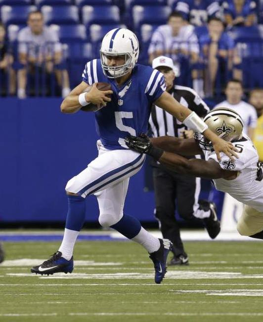 Video: Defense and Drew Brees highlight Saints' win at Indianapolis _lowres