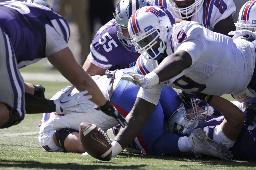 Louisiana Tech defensive tackle Vernon Butler lives up to billing at Senior Bowl practice _lowres