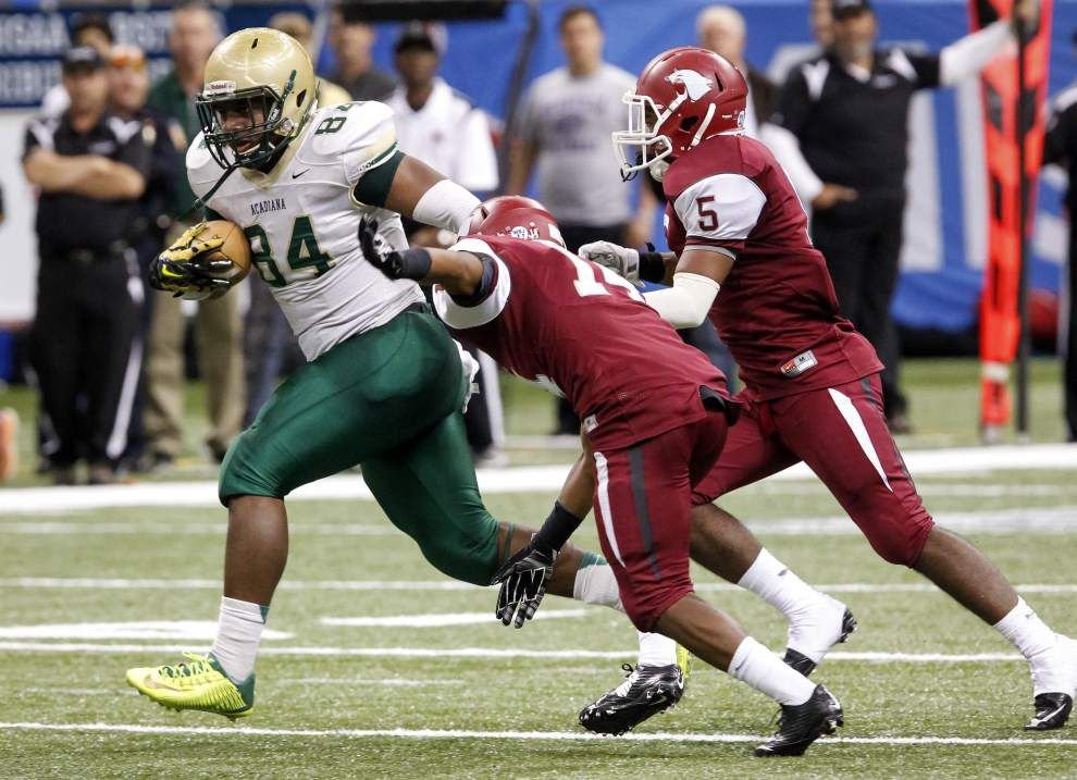 Johnson: Acadiana High took the scenic route to its second state title in a row _lowres