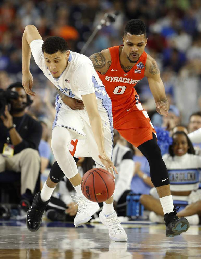 Marcus Paige's timely 3-pointers boost North Carolina over Syracuse, into national title game _lowres
