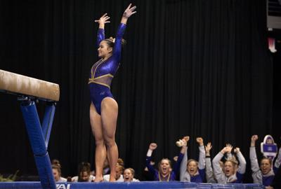 Live updates: LSU gymnasts take shot for national title at ...