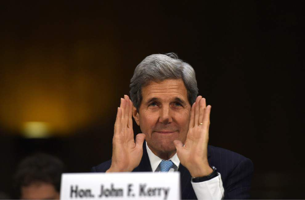 Kerry: New flexible war powers needed to fight IS _lowres