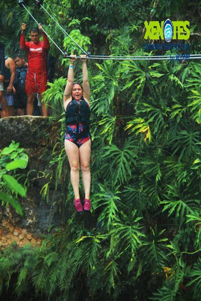 fertility answers ziplining