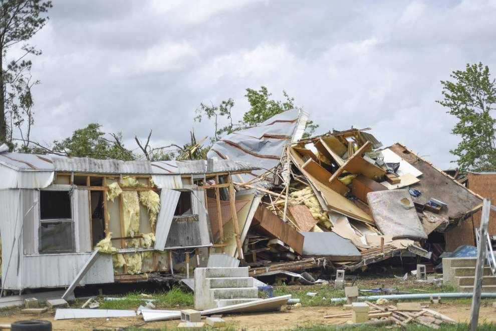 Two injured after tornado touches down Tangipahoa Parish Sunday morning _lowres