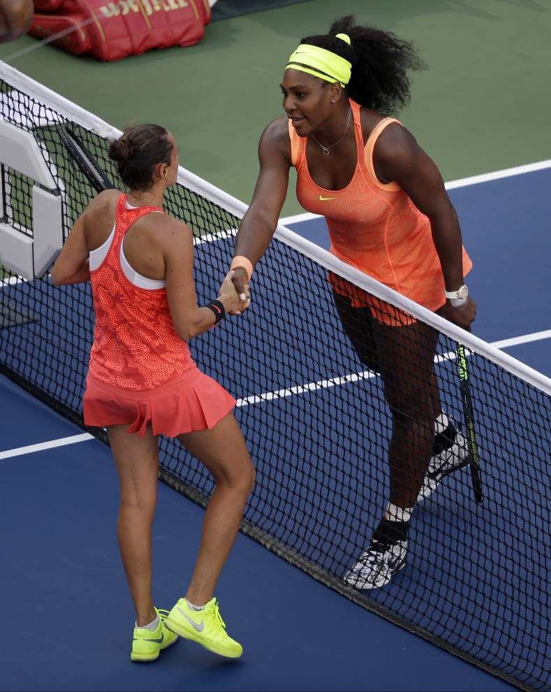 Grand Slam stunner: Serena Williams falls to Roberta Vinci in U.S. Open semifinals _lowres