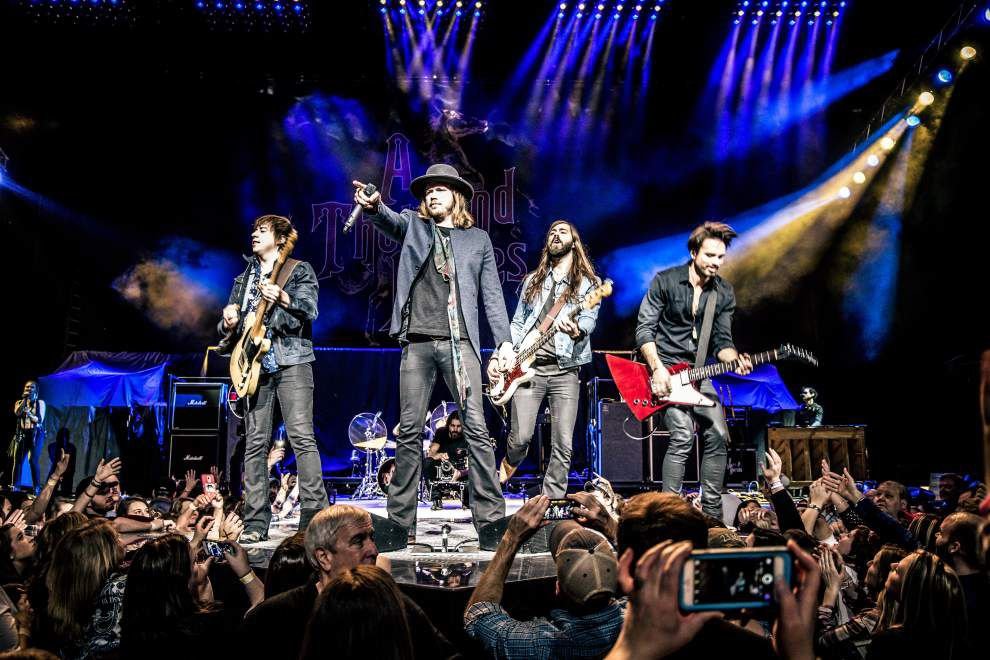 Bayou Country Superfest spotlight: A Thousand Horses gallops into Superfest _lowres