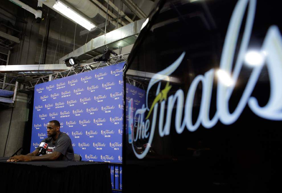 NBA Finals: Heat go to the tape for answers, prepare for Spurs in Game 4 _lowres