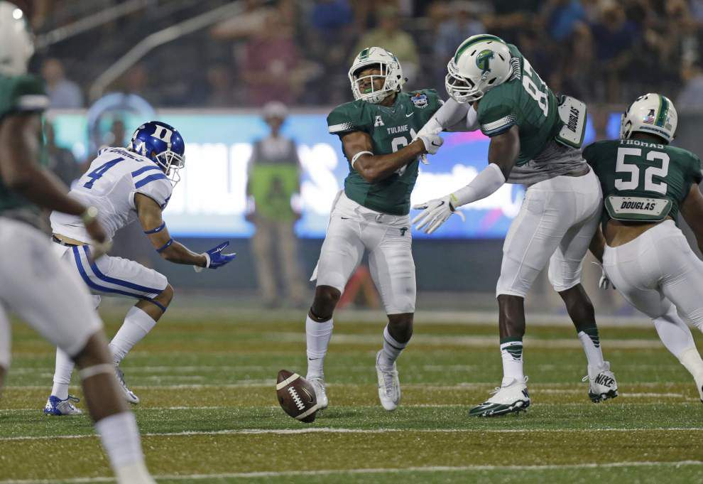 Tulane players look toward next week — and keep their faith in Curtis Johnson _lowres