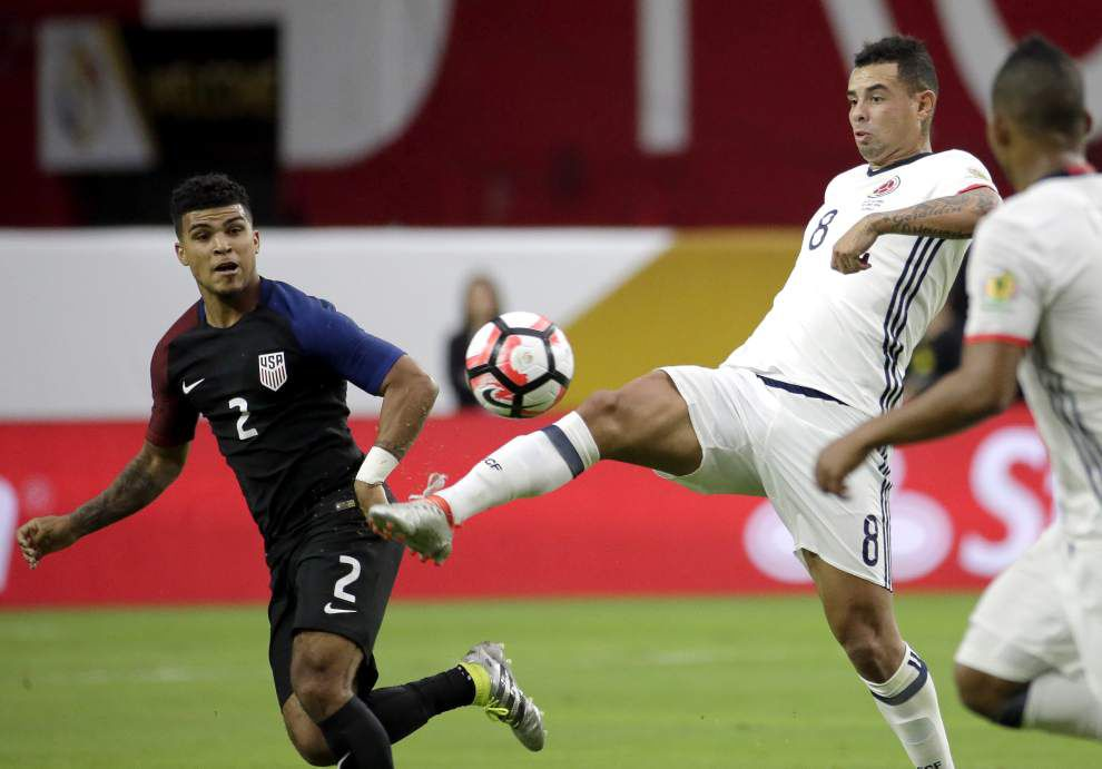 Copa America: Americans fall to Colombia _lowres