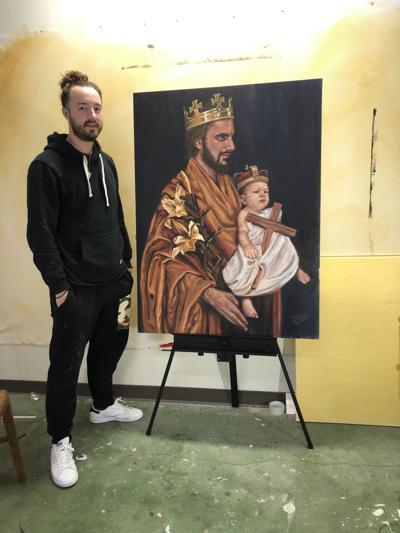 Jacob Zumo with painting.jpg