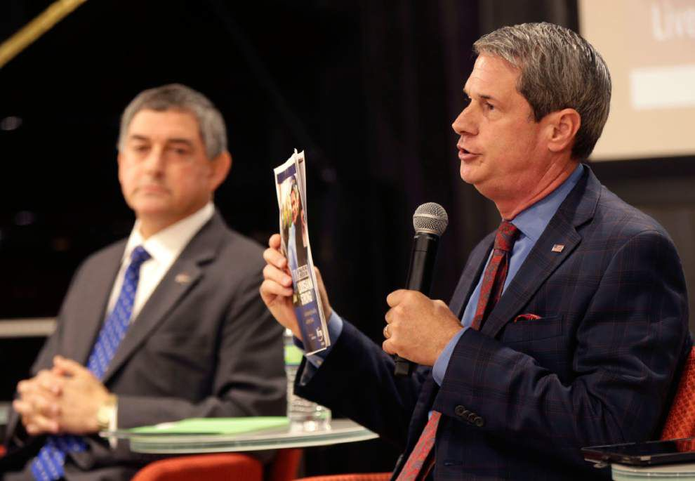 Report: Current gubernatorial rival Jay Dardenne sent note of comfort to David Vitter after scandal in 2007 _lowres