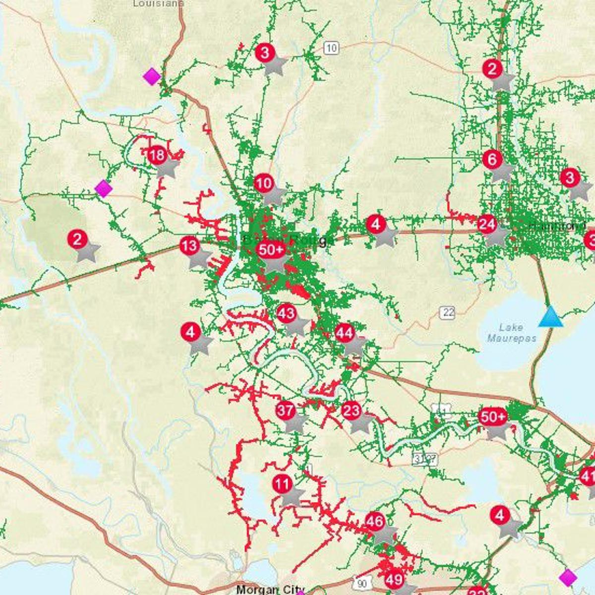 As Hurricane Barry Moves In Nearly 77k People Without Power In
