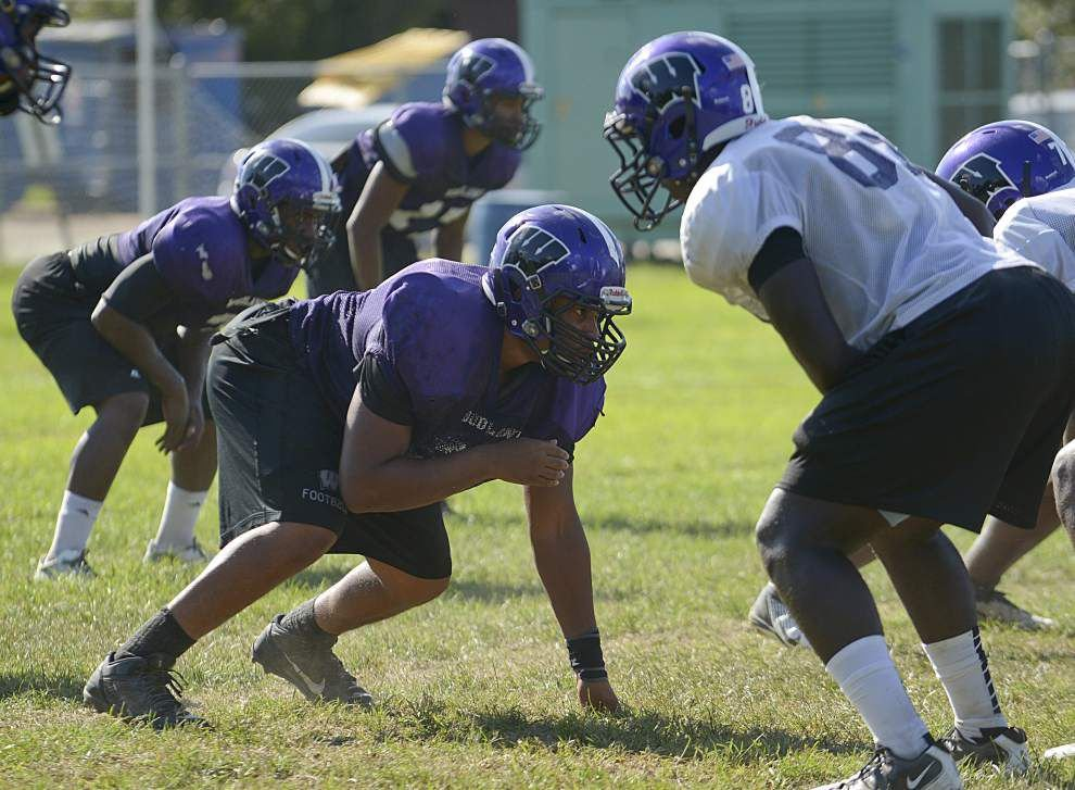 Video: Woodlawn coach Brett Beard says defensive lineman Jeremy Jackson has been a leader _lowres