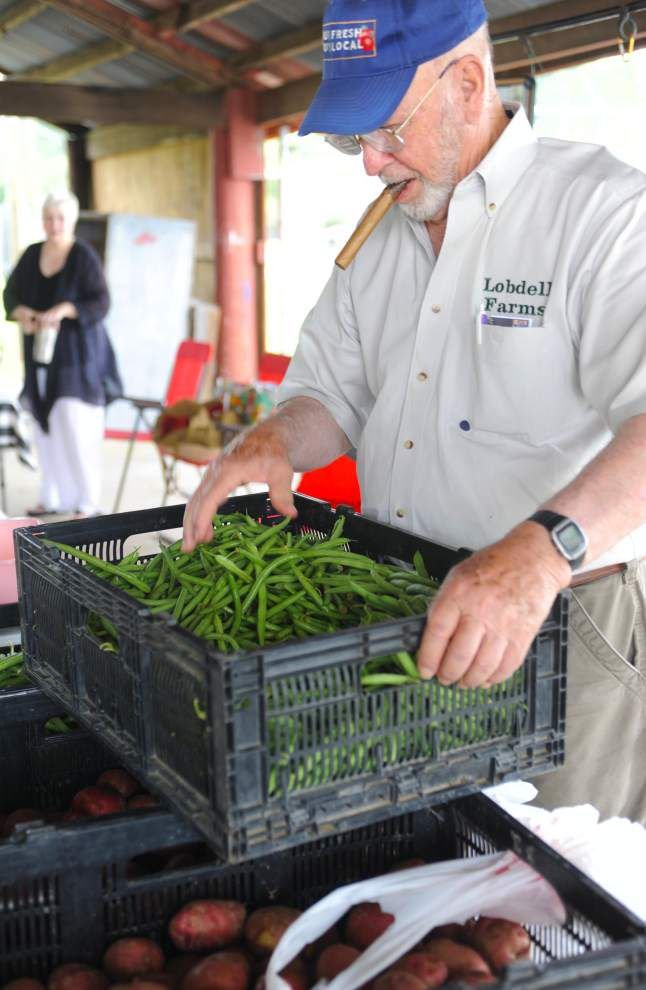 St. Francisville market features area-grown veggies, cheese, more _lowres