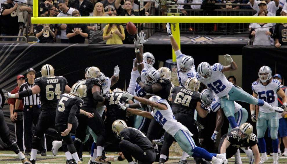NFL moves back distance for extra points _lowres