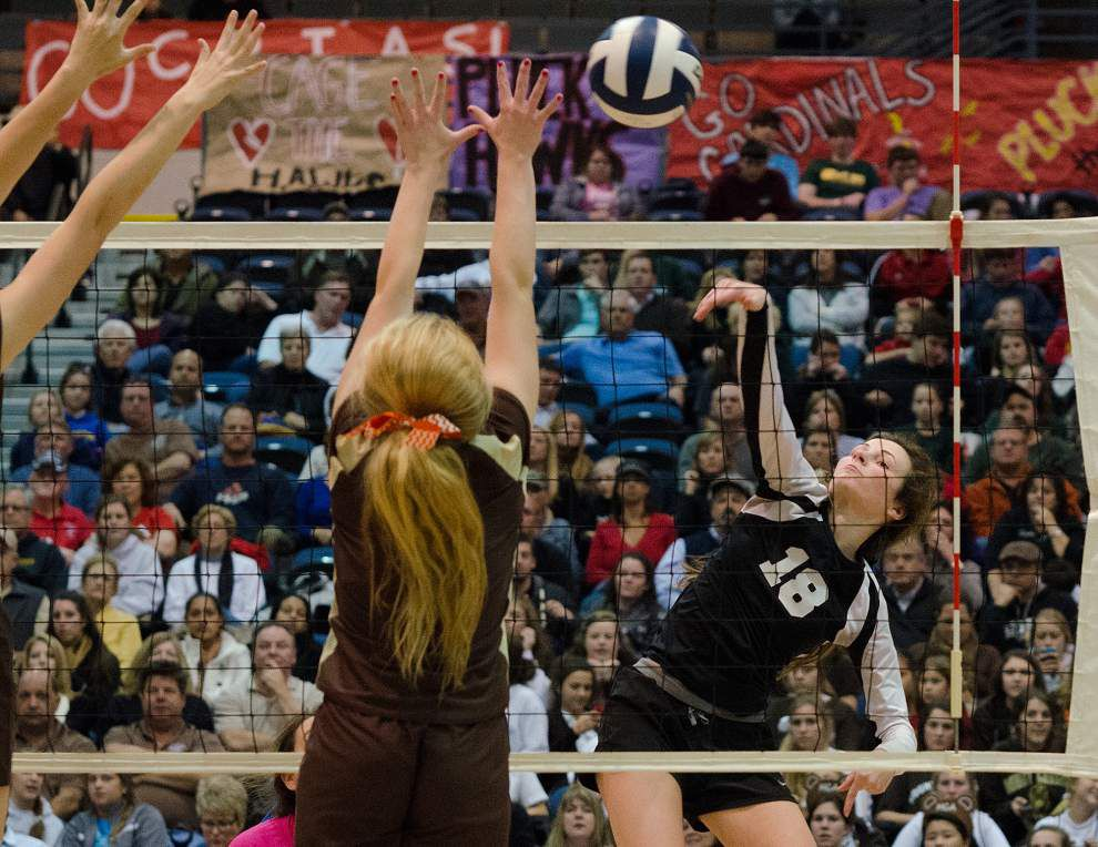 Photos: LHSAA Volleyball Thursday _lowres