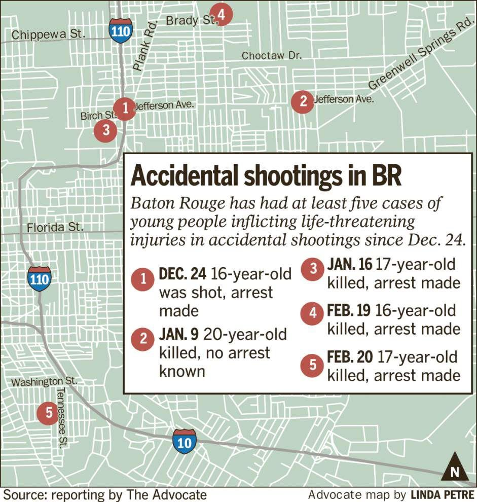 Rash of accidental shootings in Baton Rouge concerns DA Moore, local officials _lowres