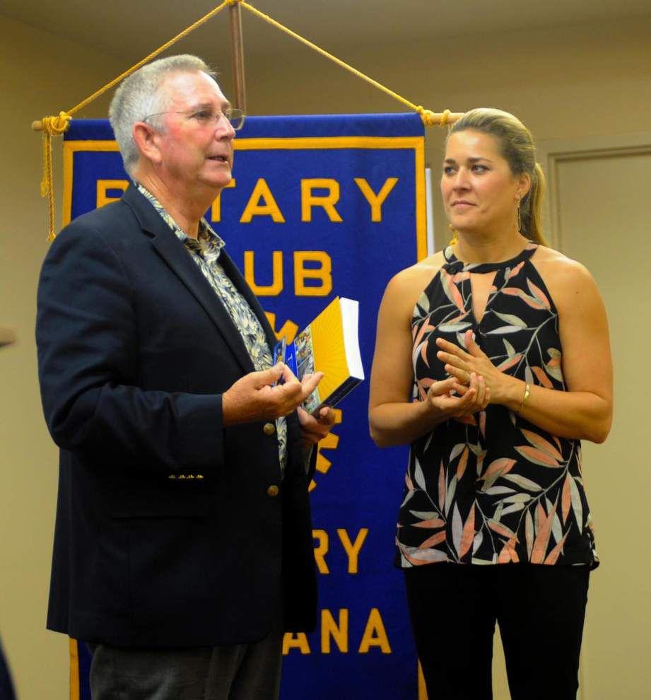 'Good Ship' Rotarian visits Zachary club _lowres