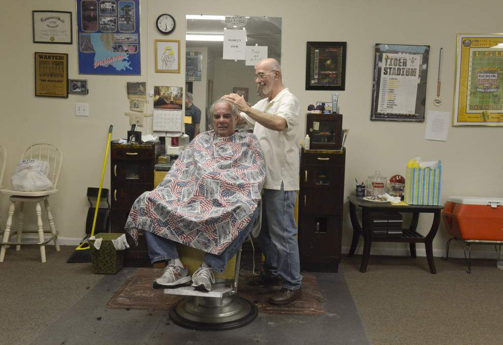 His Final Cut: A barber since 1956, Baton Rouge's Anthony Michelli hangs up his clippers _lowres