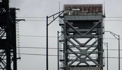 Belle Chasse Bridge stock