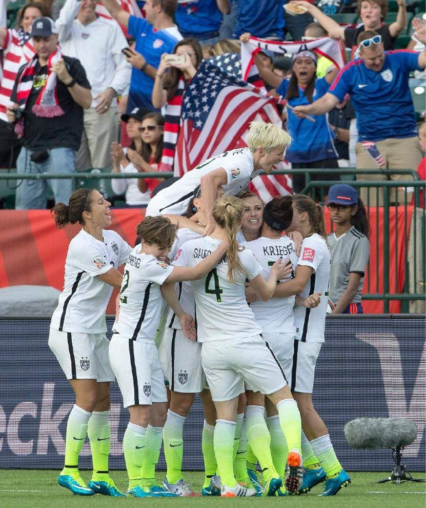 United States searching for offense heading into Women's World Cup quarters _lowres