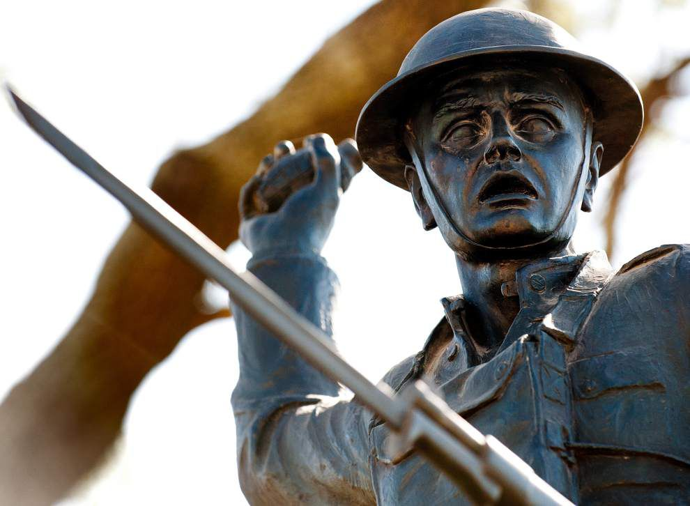 Restored WWI statue to be rededicated in Lower Mid-City _lowres