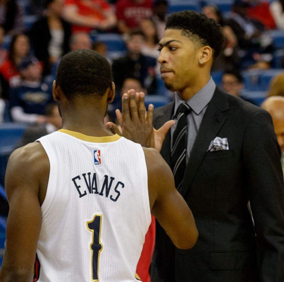 Pelicans All-Star forward Anthony Davis (groin) to play in Monday's game against the Atlanta Hawks _lowres
