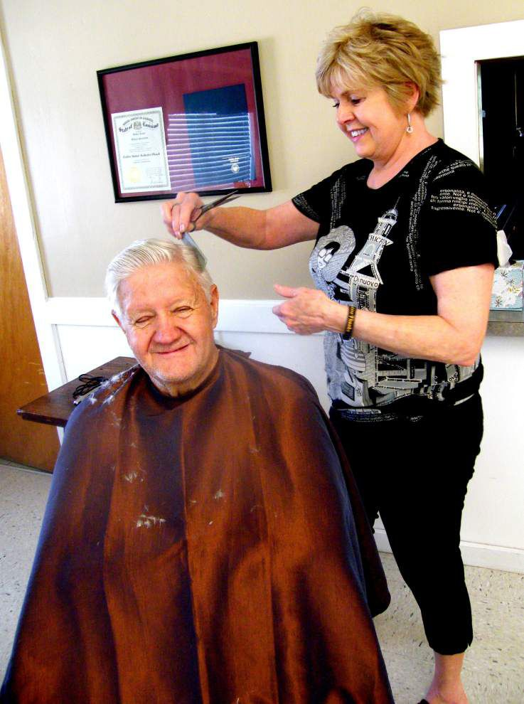 Pops get pampered at annual makeover _lowres