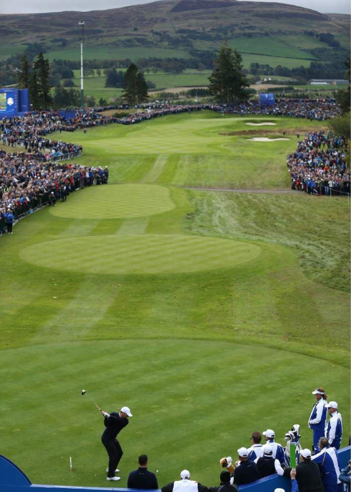 Americans face tough challenge in Ryder Cup at one of golf's noisiest arenas _lowres