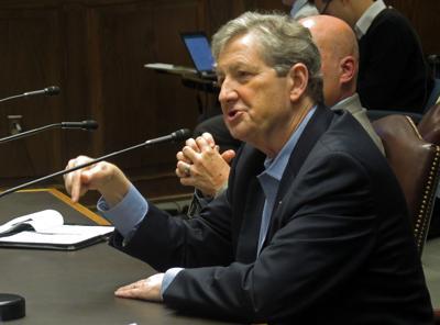 John Kennedy at Comite hearing 020118