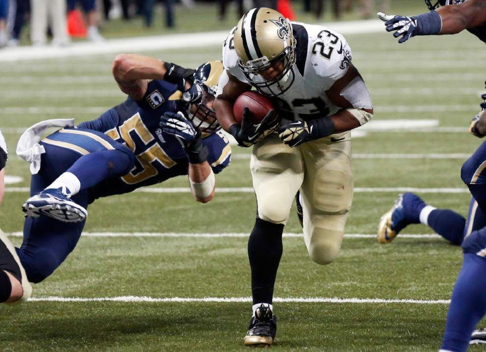 Saints demote Charles Brown, add K Shayne Graham, S Eric Frampton _lowres