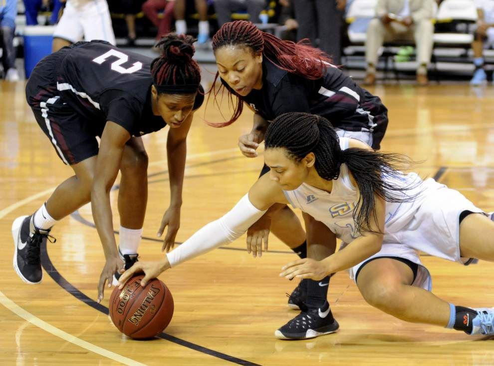 Defense gets it done for Southern women _lowres