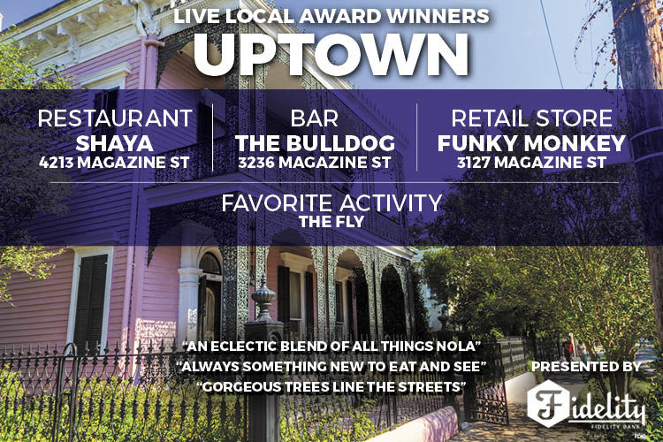 Live Local Awards - Uptown Results