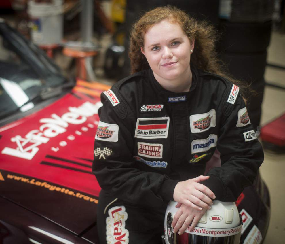 Lafayette woman, 20, burning up track as professional racer _lowres