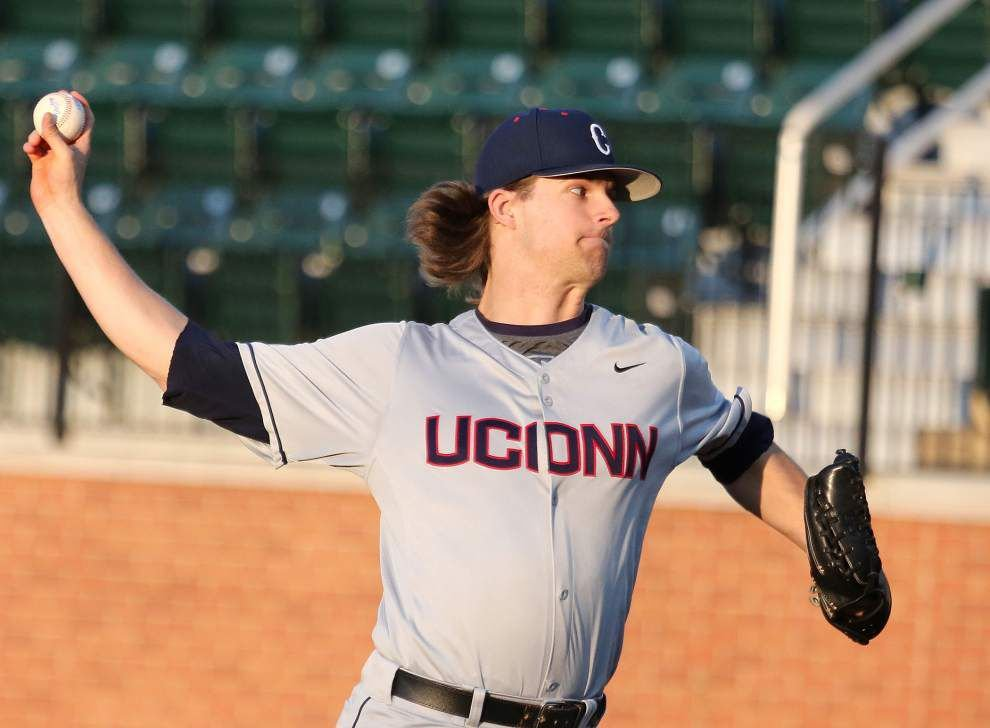 UConn baseball spoils Tulane's AAC debut at Turchin Stadium _lowres