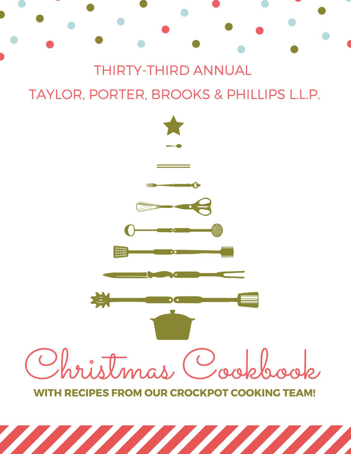 Law firm\'s Christmas cookbook adds special chapter after the flood ...