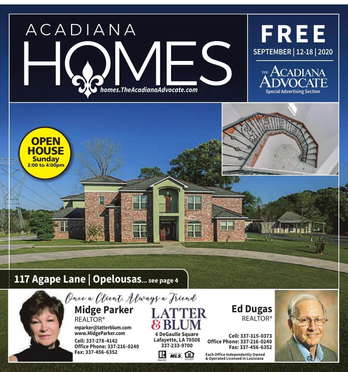 Acadiana Homes - September 12, 2020