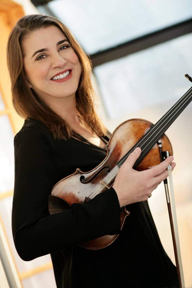 Violinist Salerno-Sonnenberg brings a lifetime of ups and downs to Loyola _lowres