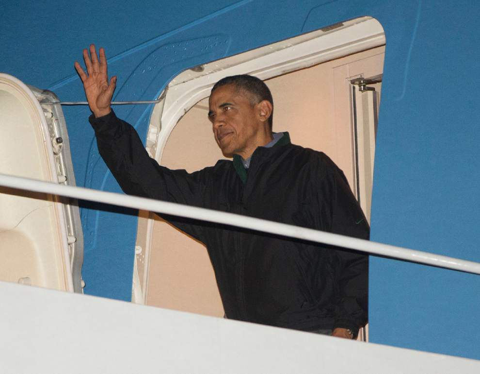 Obama stakes final 2 years on climate change _lowres