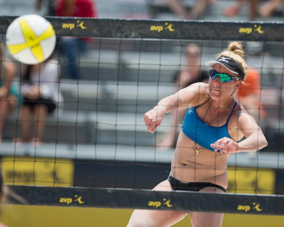 Pro beach volleyball returns to New Orleans this week with the AVP New Orleans Open _lowres